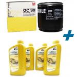 Kit Filtro + Óleo Valora 5w30 4 Litros Corsa Celta 01> Meriva 03>