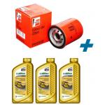Kit Filtro + Óleo Valora Tecno 15w40 3 Litros Uno 1.0 1.3 Fiorino Palio Siena