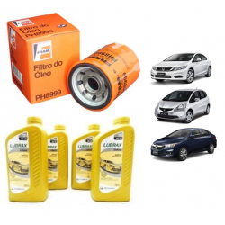 Kit Oleo E Filtro Civic 12>16 New Fit New City 14>